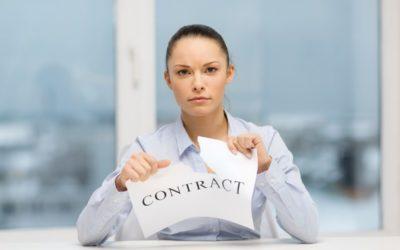 Directe ontbinding arbeidsovereenkomst